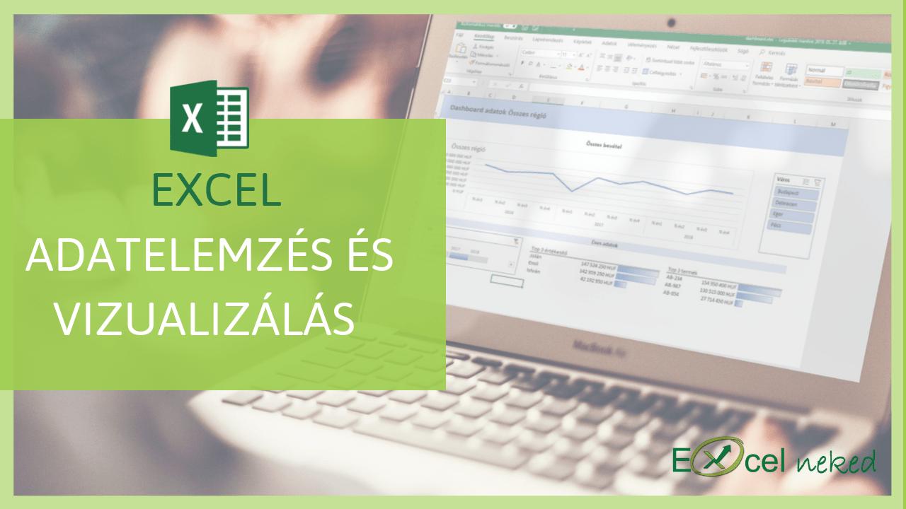 Excel adatelemzés és vizualizálás online tanfolyam