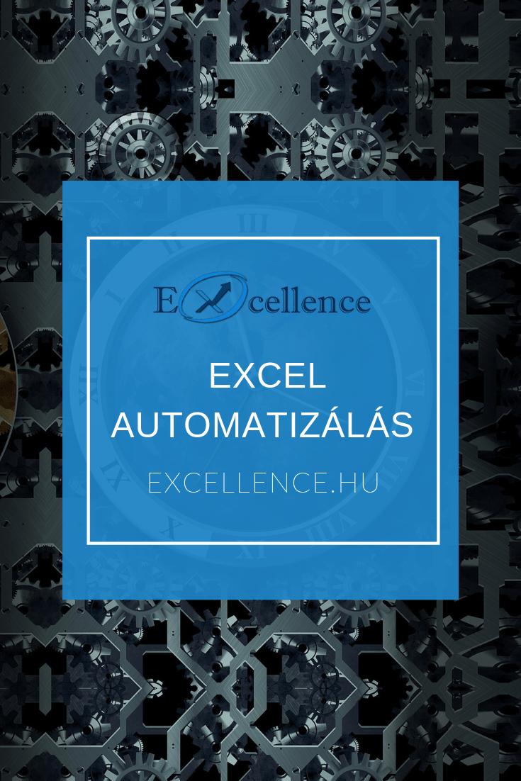 Excel automatizálás