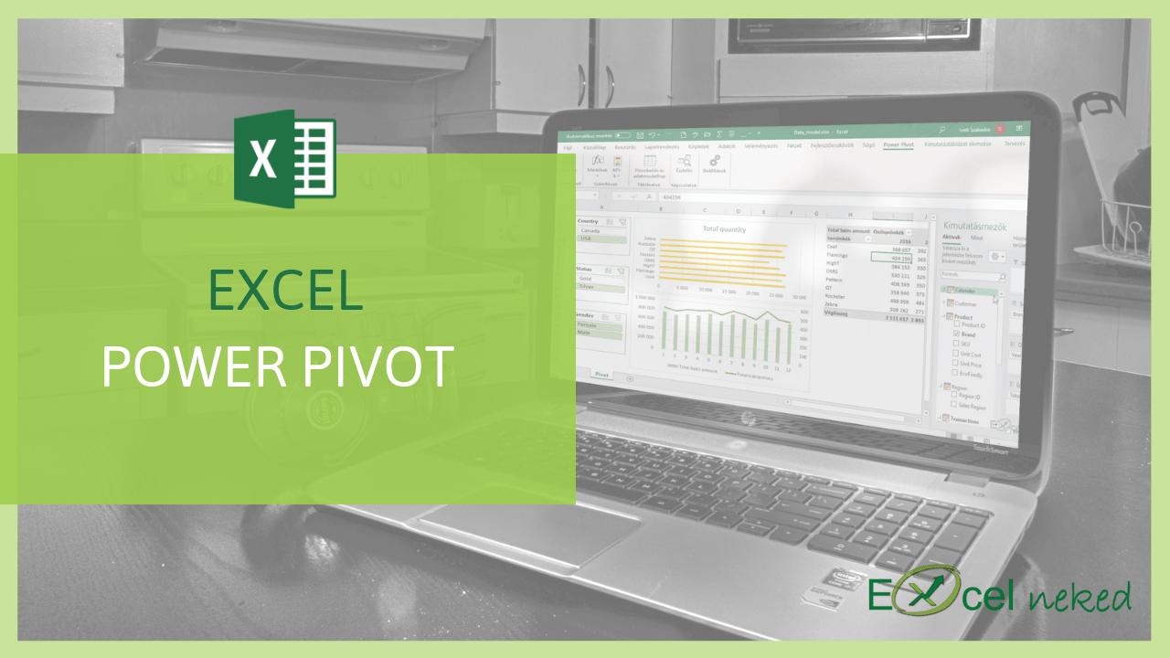Excel Power Pivot online tanfolyam