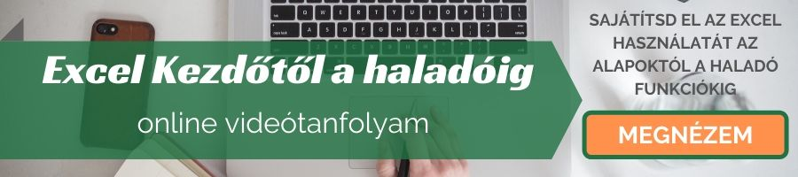 Online Excel tanfolyam