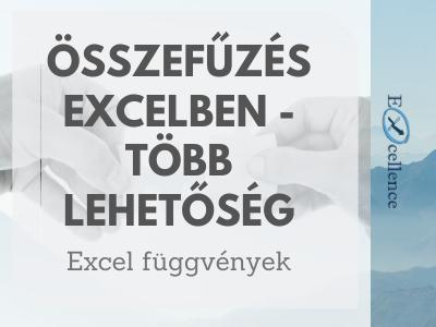 Excel Összefűz