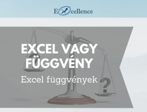 Excel VAGY függvény – leírással, példákkal